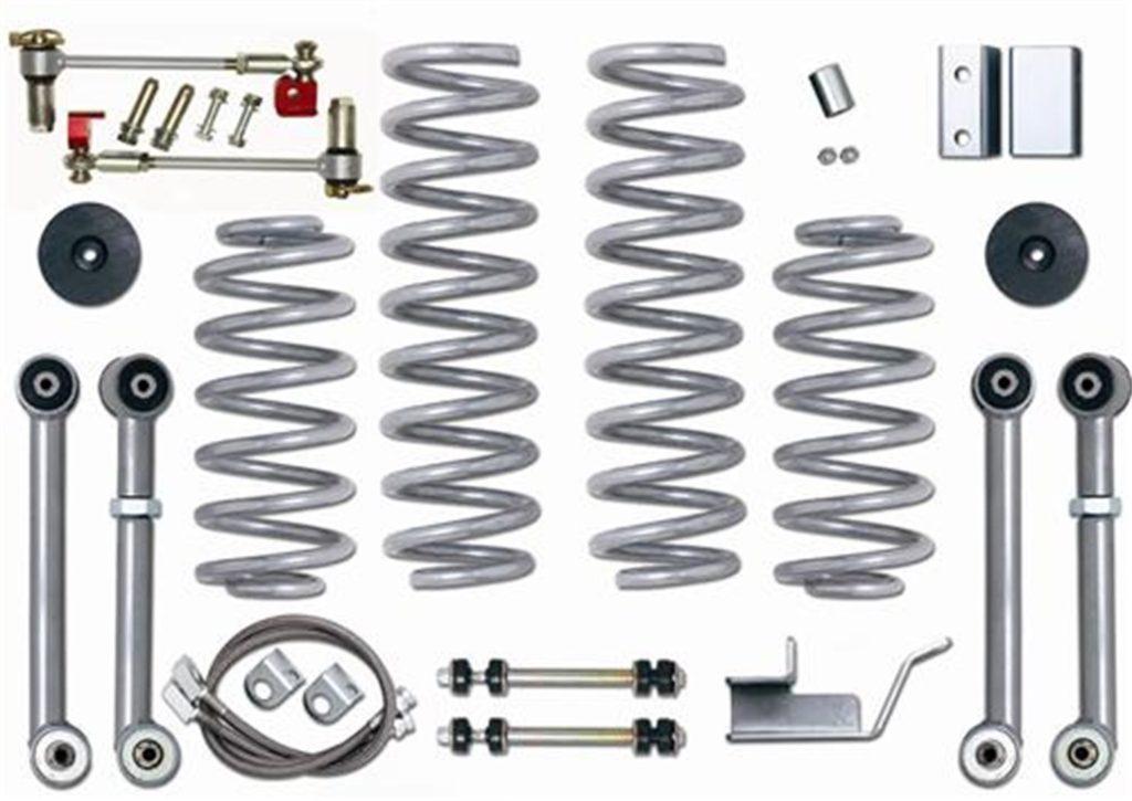 "3.5"" Super-Flex Short Arm Lift Kit Rubicon Express"
