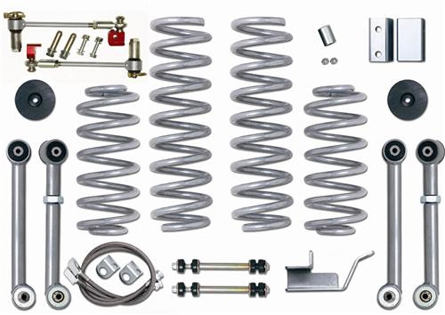 "3.5"" Super-Flex Short Arm Lift Kit Rubicon Express"