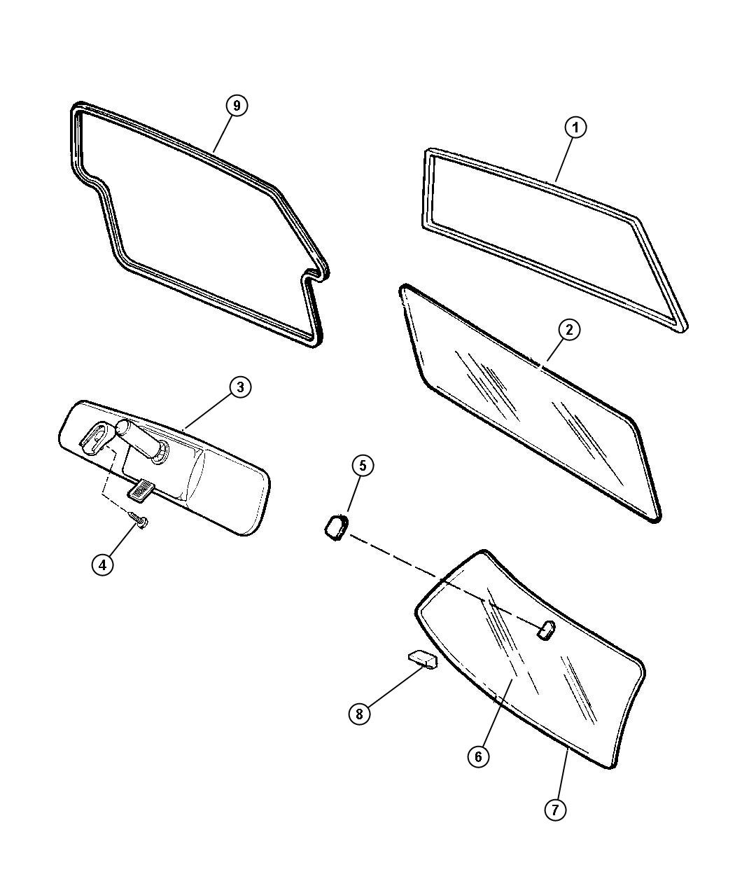 Jeep Cherokee Molding. Liftgate. !!discontinued