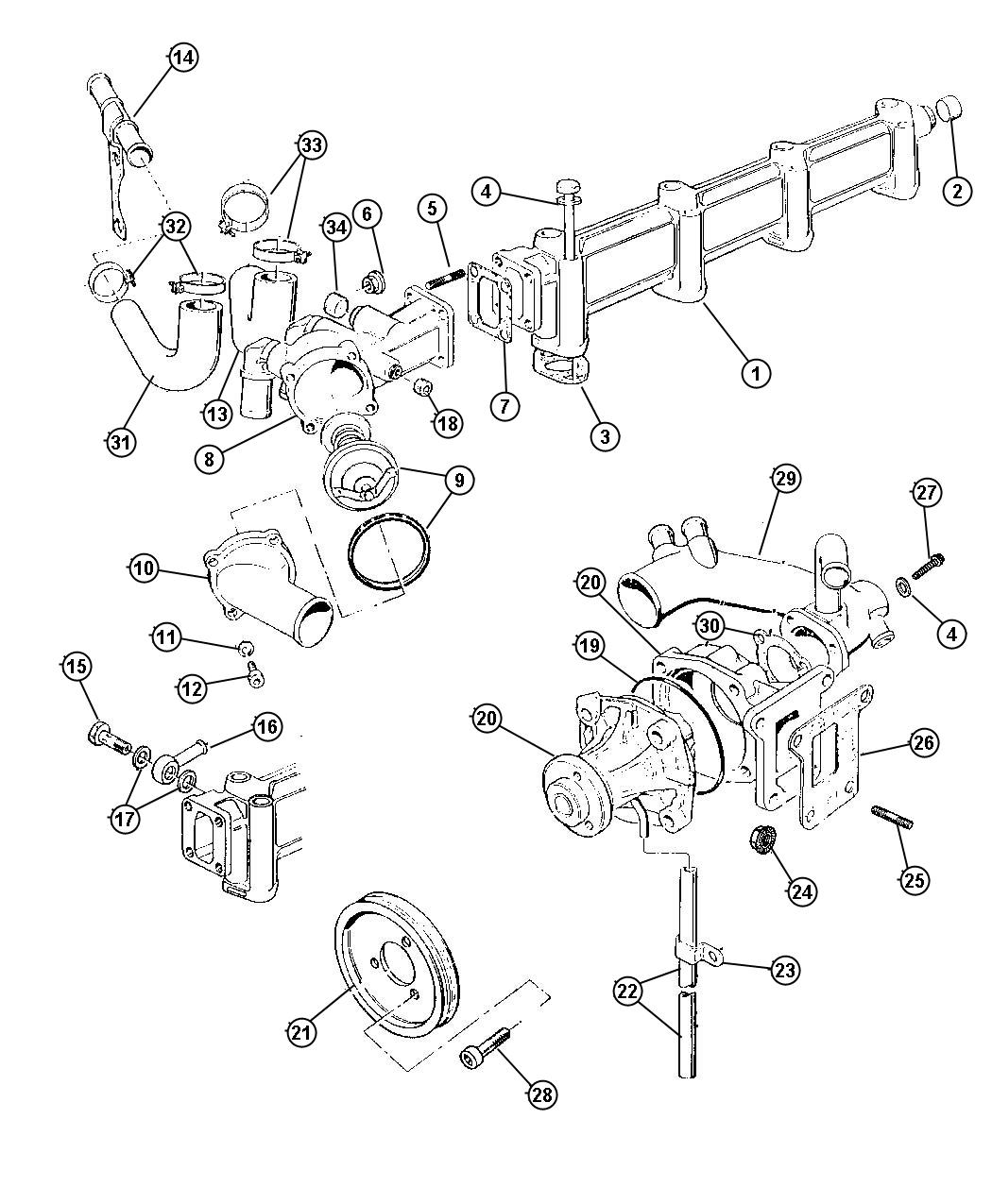 tags: #07 ford fusion belt diagram#ford 3#1992 2 3 liter ford engine  schematic#1992 2 3 liter ford engine vacuum schematic#1993 ford tempo engine  diagram 2