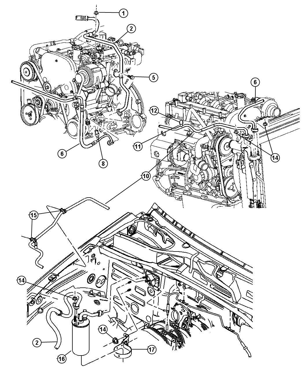 Jeep Liberty Transducer Kit A C Pressure Nmg