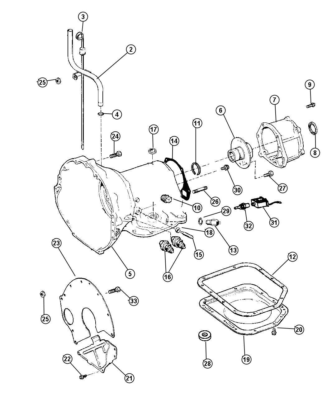 Jeep Liberty Seal. Manual shift valve. 1.25 od. Dgd, dgg