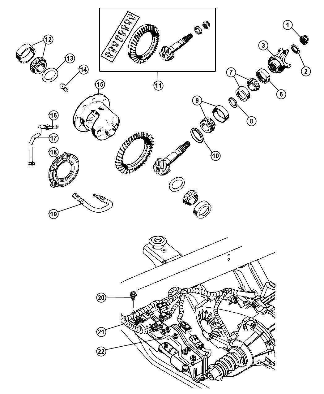 Dana 35 Front Axle Diagram - Wiring Diagrams ROCK