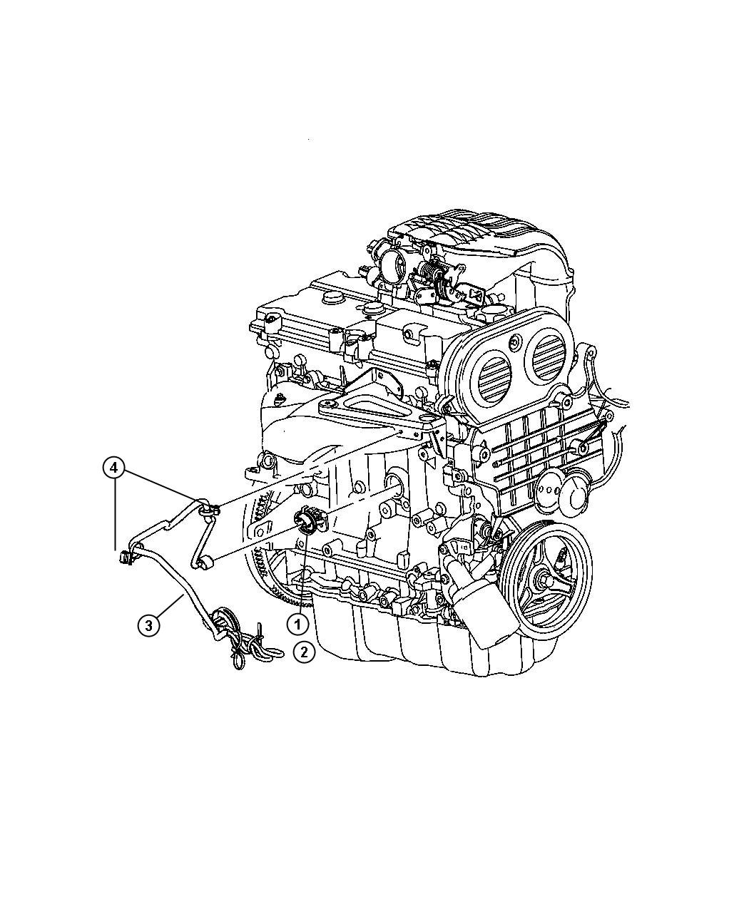 Jeep Liberty Heater Engine Block Exl