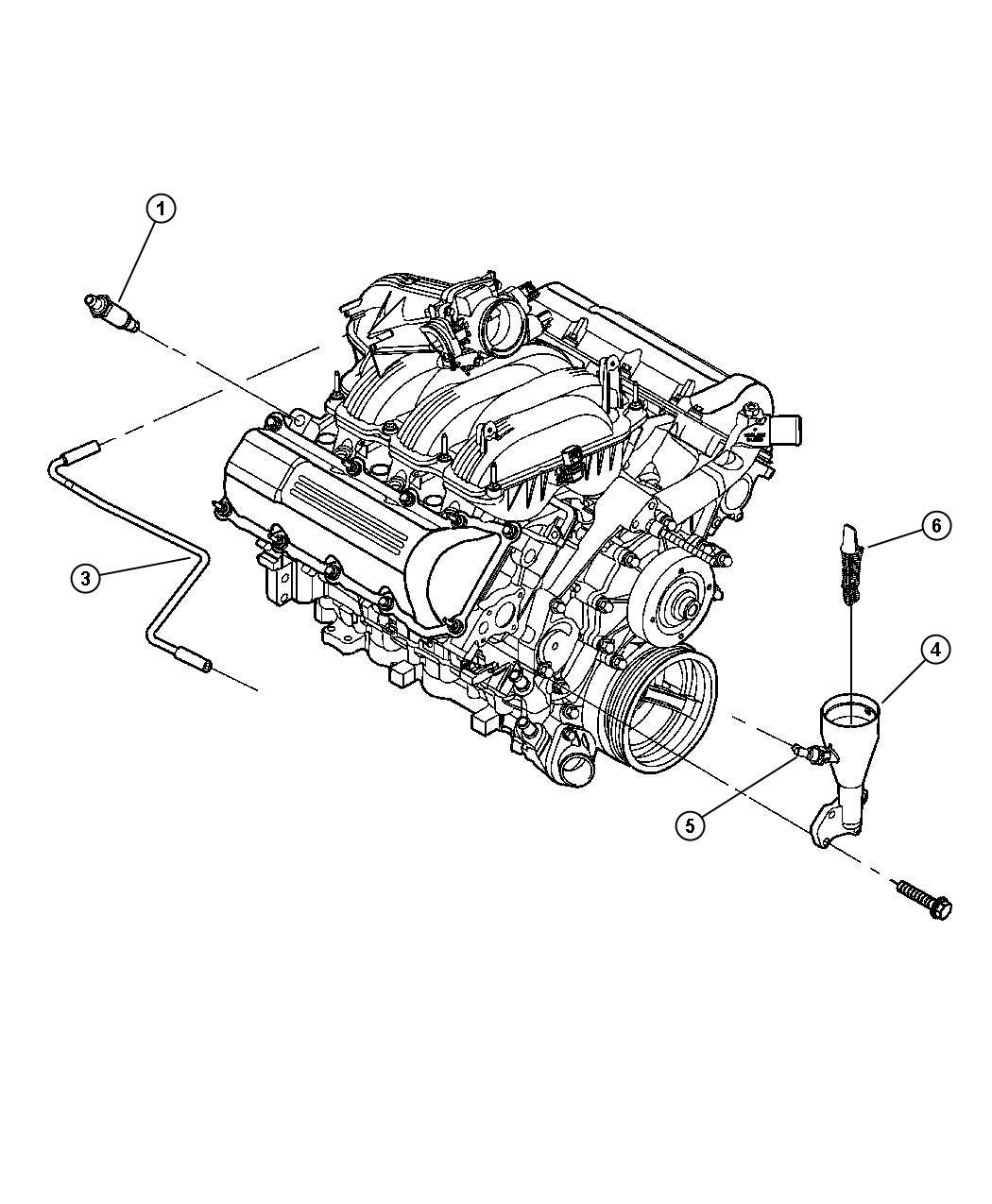 Jeep Wrangler Hose. Cylinder head to air cleaner. Ekg