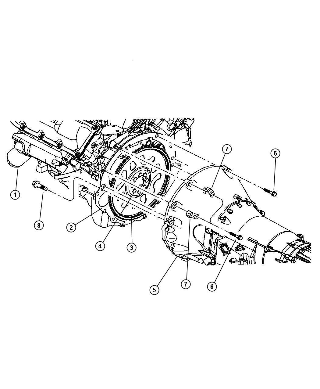 Chrysler Wiring Harnes Strap Clip