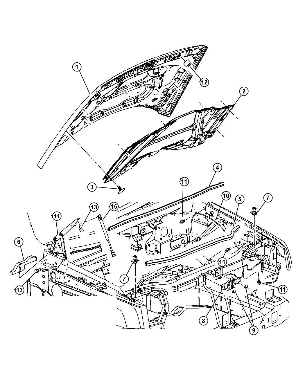 Hood Latch Kits | Wiring Diagram Database
