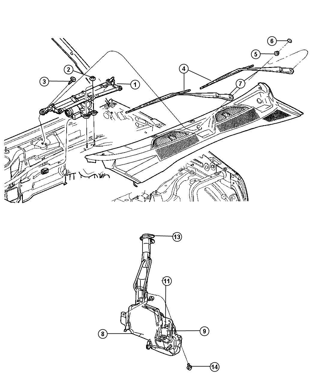 Cherokee Vacuum System Diagrams