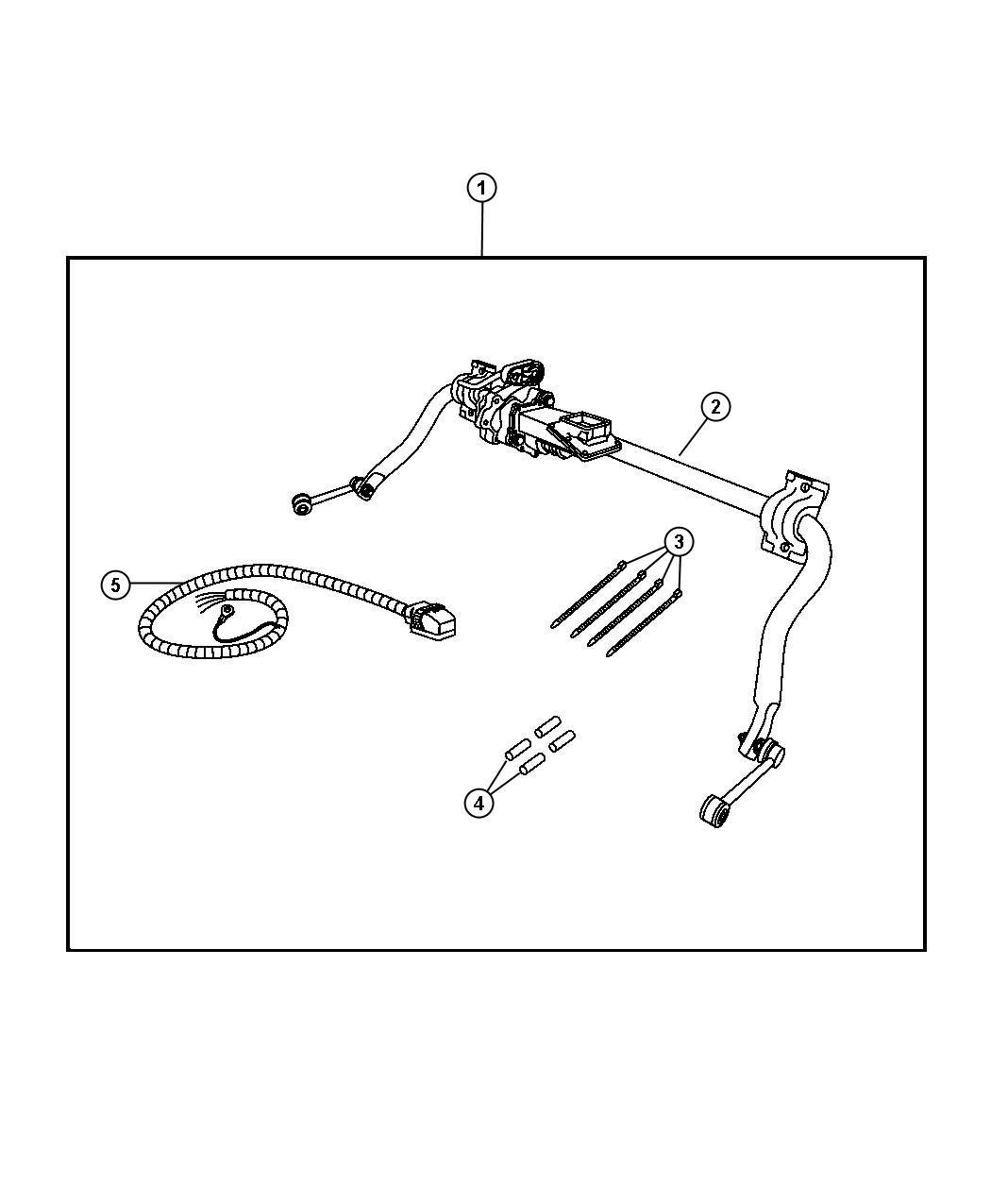 2009 Jeep Wrangler Bar kit. Stabilizer. Electronic, road