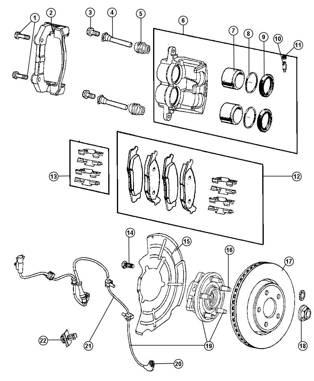 Jeep Cherokee Drum Brake Diagram