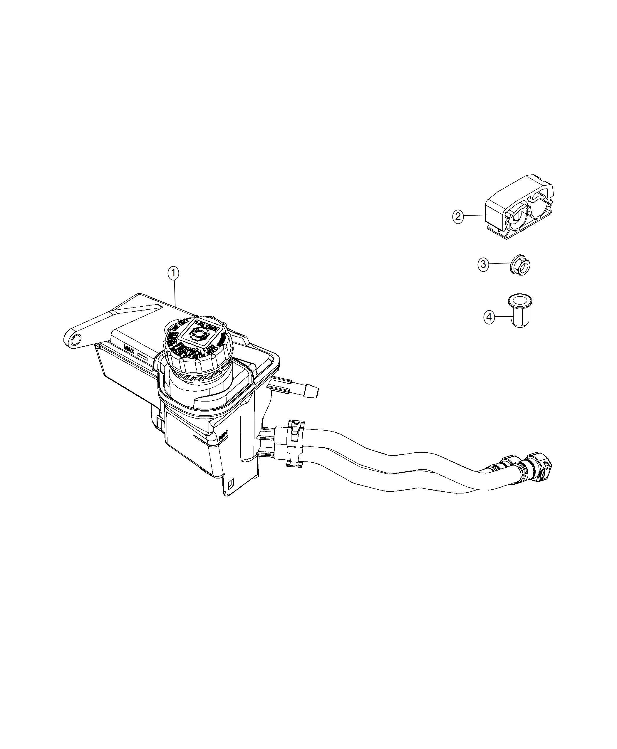 Jeep Renegade Nut Rivet Stud M6x1 0 M6x1 00x20 Sensor Bracket