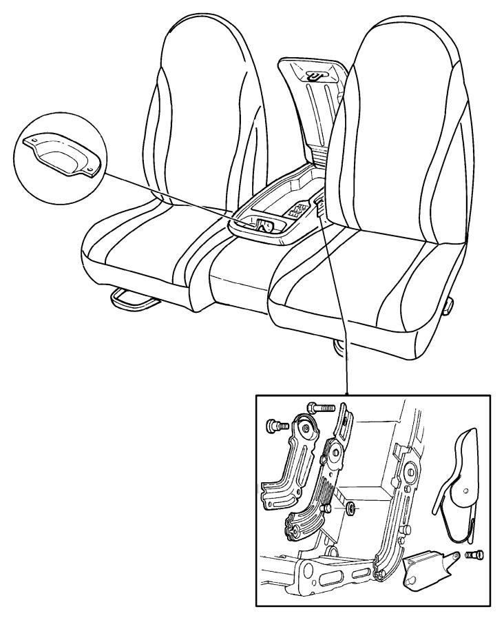 2009 Jeep Grand Cherokee Foam. Seat cushion. Driver, left