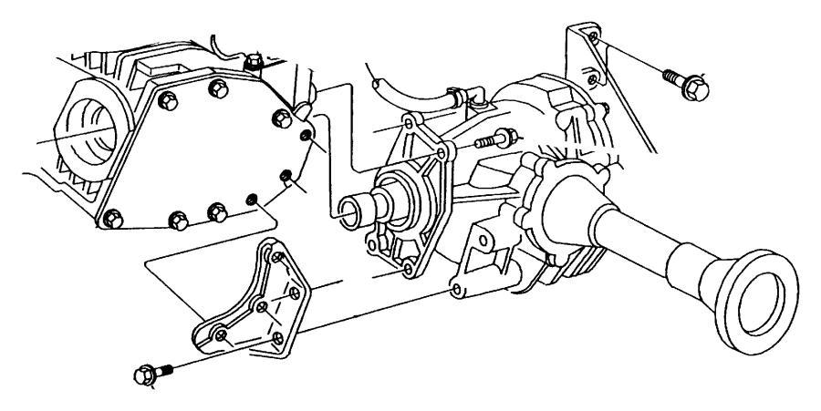 Jeep Wrangler Bolt. Hex flange head. M10x1.50x50. Mounting