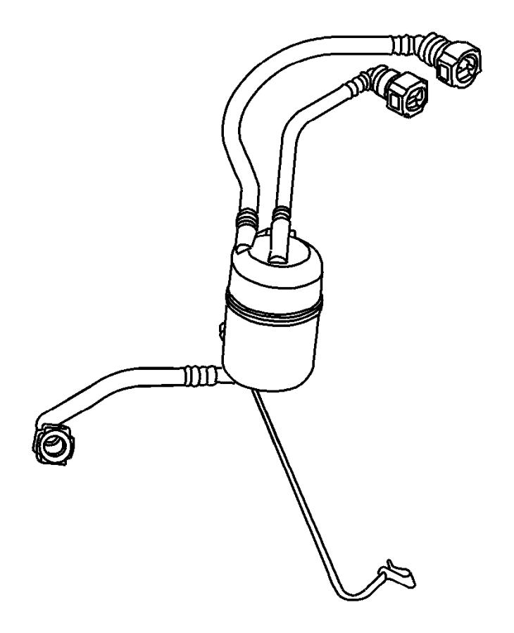 2005 jeep liberty 3.7l fuel filter