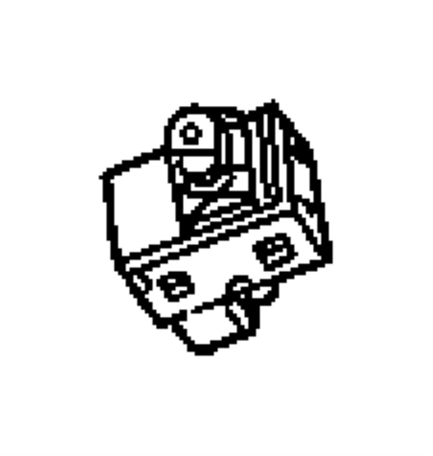 Jeep Grand Cherokee Switch. Power window. 1 gang, single