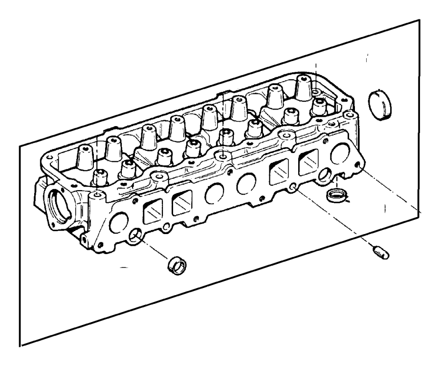 Jeep Grand Cherokee Plug. Cylinder block oil hole. Freeze