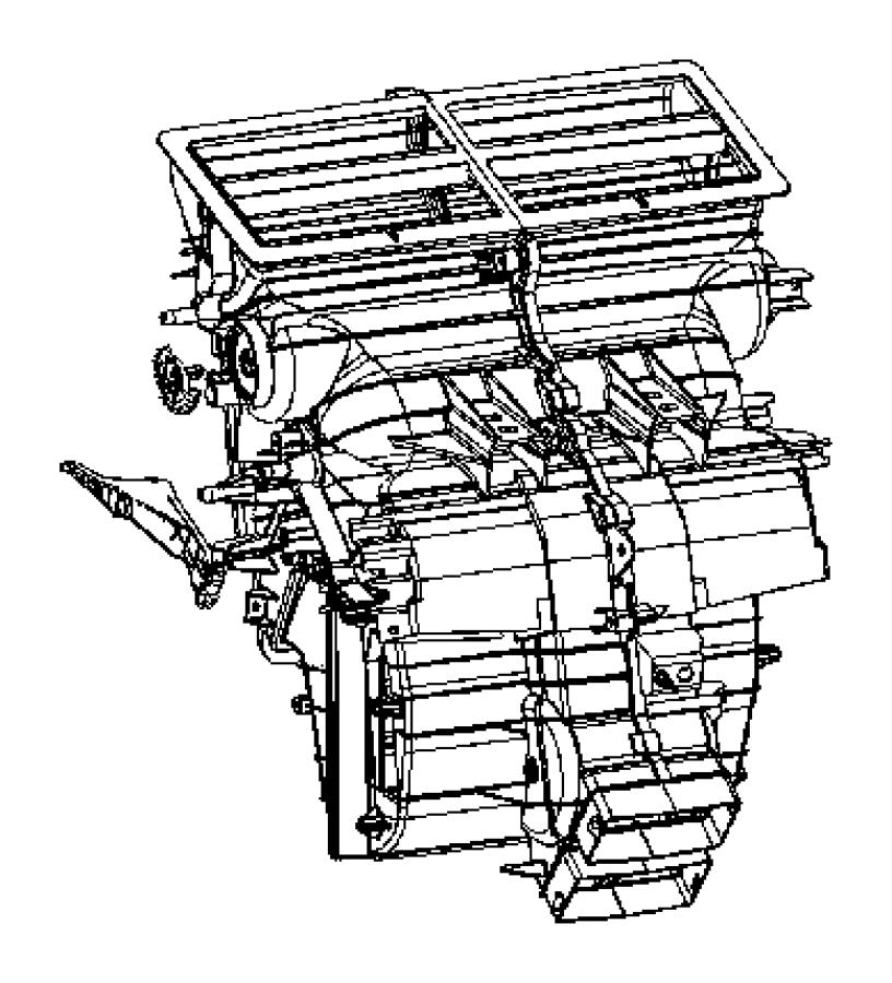 Jeep Commander Housing. Distribution, distribution upper