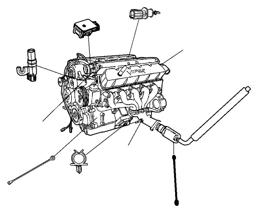 Jeep Patriot Sensor. Crankshaft position. Vehicle speed
