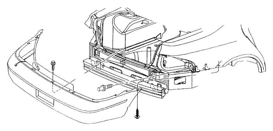 Jeep Renegade Pin, push pin. M11.4, m8x21. Mounting. Heat