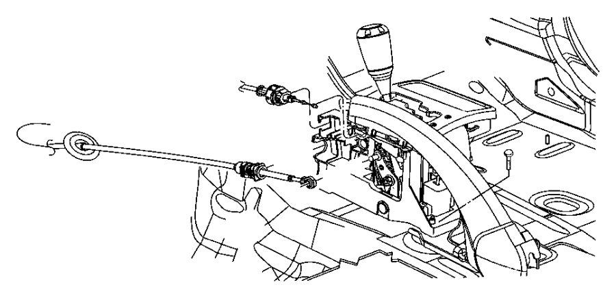 2005 Jeep Grand Cherokee Prndl bezel. Gear selector. Trim