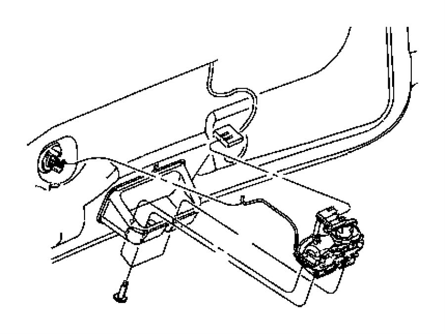 Jeep Wrangler Actuator. Power latch. Power door locks