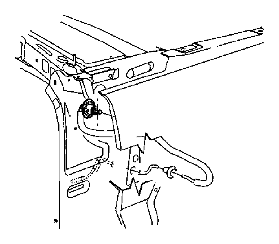 Jeep Liberty Adapter. Antenna. Bezel. Fixed, mast, long