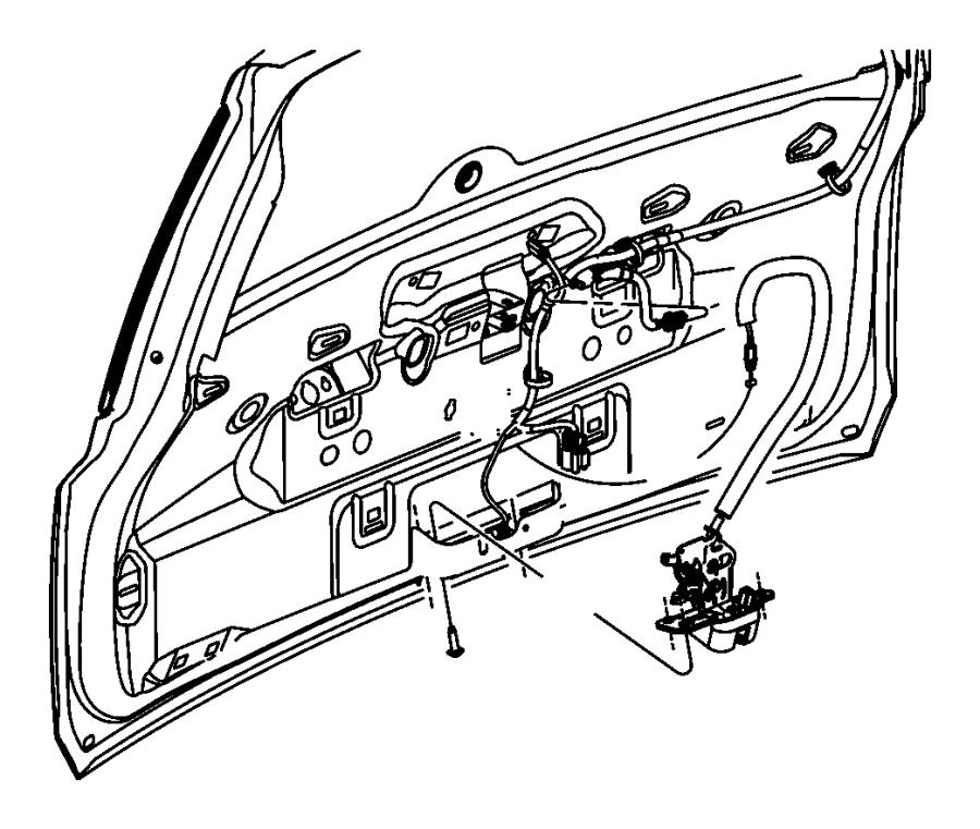 Power Latch Relay Jeep
