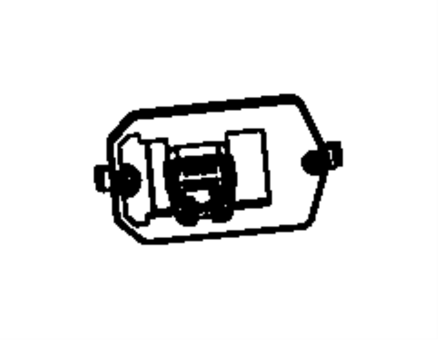 Jeep Wrangler Resistor. Blower motor. Heater, unit, rhd