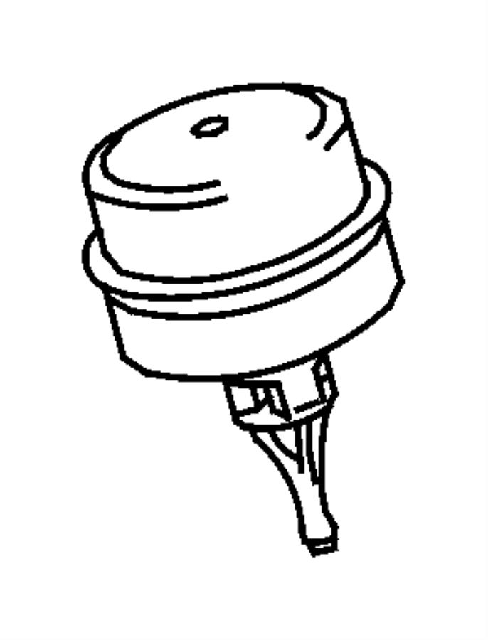 Jeep Patriot Cap. Oil filter adapter, oil filter housing