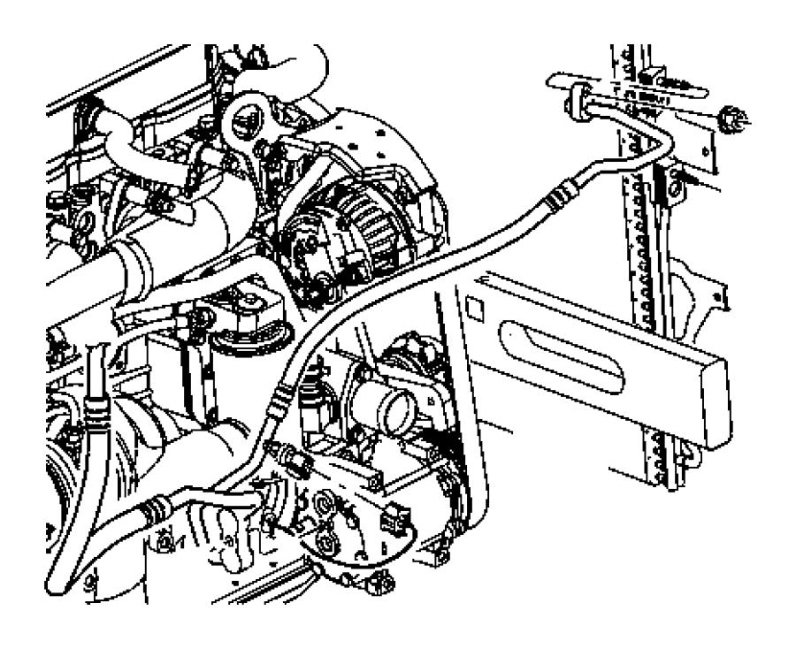 Jeep Liberty Transducer kit. A/c pressure. Nmg