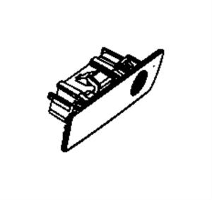 5JM55ZJ8AC  Jeep Latch Glovebox door [jj], [jj], with [8 speakers] sales code, export   Jeep