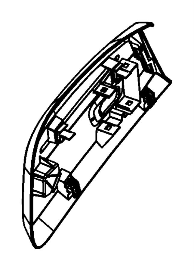 2010 Jeep Liberty Shield. Seat. Trim: [cloth low-back