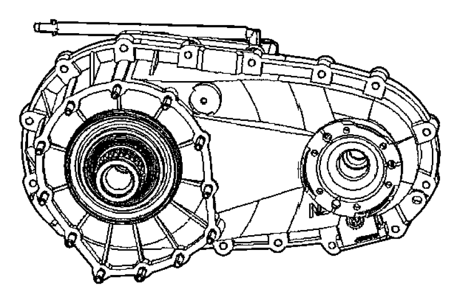 Jeep Grand Cherokee Case. Nvg146. Transfer, trac, quadra