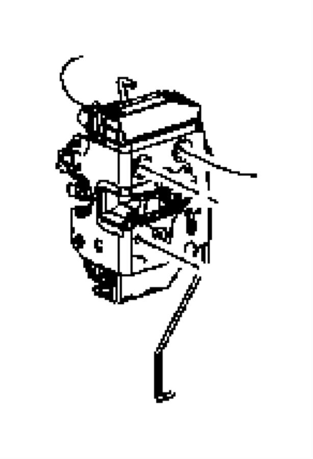 Jeep Wrangler Latch. Swing gate. [manual door locks