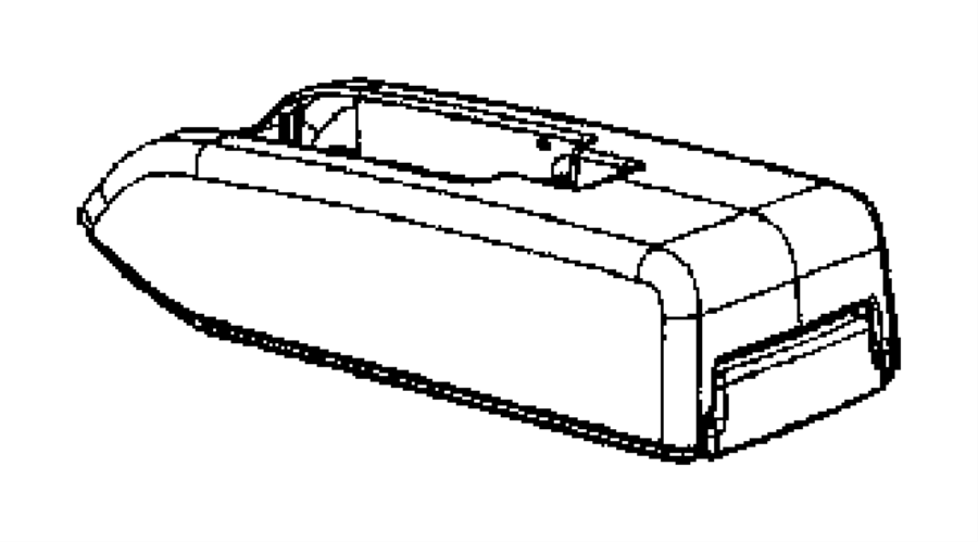 2015 Jeep Patriot Armrest. Console. Trim: [all trim codes