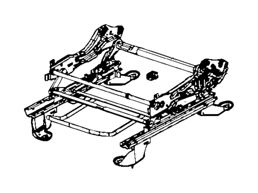 Jeep Patriot Adjuster. Manual seat. Trim: [premium cloth
