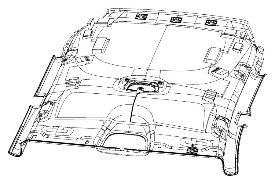 2014 Jeep Cherokee Headliner. Trim: [no description