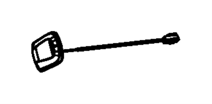 2014 Jeep Compass Antenna. Module, satellite. Navam, rhp