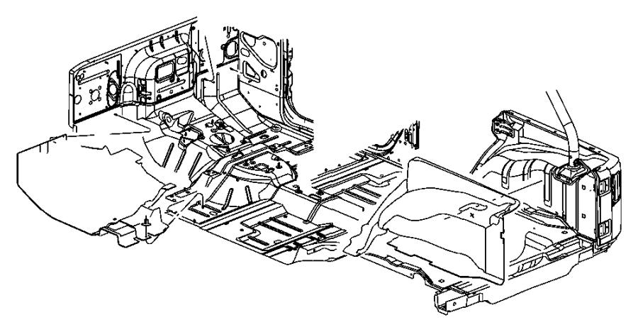 Jeep Wrangler Lid. Load floor. Trim: [all trim codes