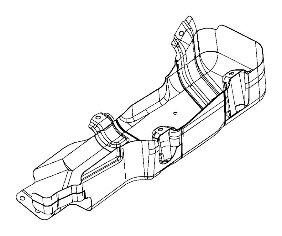 Jeep Wrangler Skid plate. Fuel tank. Gallon, module