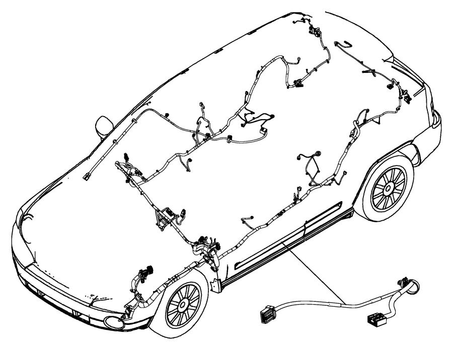 2017 Jeep Compass Wiring. Header. [rr view auto dim mirror