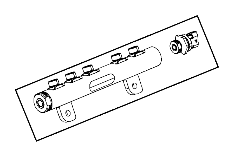 Jeep Grand Cherokee Sensor. Fuel pressure. Emissions