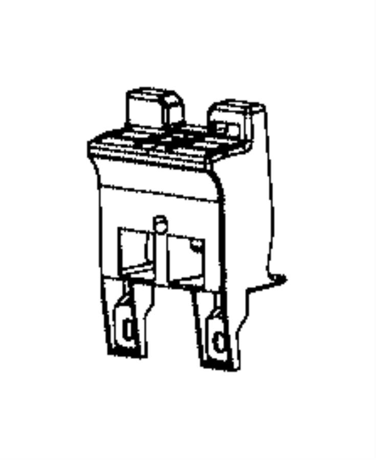 Jeep Grand Cherokee Reinforcement. Grille. Ehw, exn, mhj