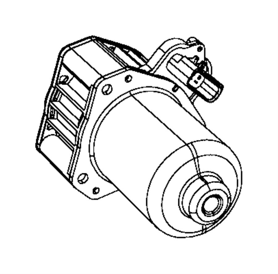 Jeep Grand Cherokee Sensor. Transfer case position