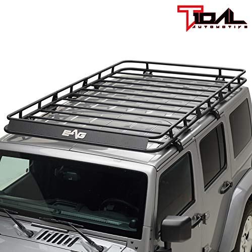 Tidal Fit For 07 18 Jeep Wrangler Jk 4 Door Cargo Rack