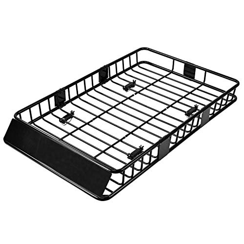 SUNCOO 64 inch Universal Roof Rack Cargo with 250lb