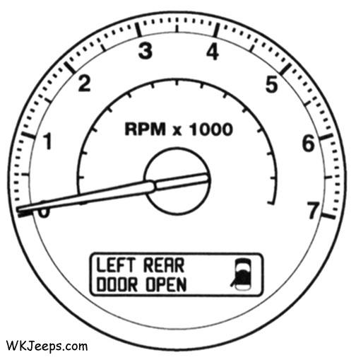 Jeep WK Grand Cherokee Electronic Vehicle Information