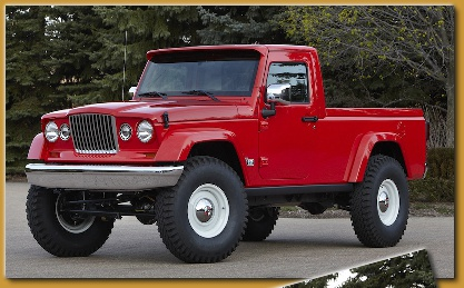 New Jeep Truck Concepts J12 and Mighty FC Jeep