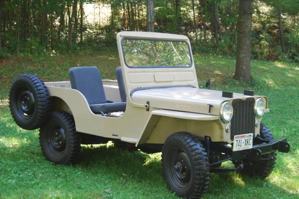 willys wiring harness 1973 jeep cj5 mb m38 bantam trailer original