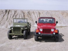 Jeep Wrangler & Willys MB 1943